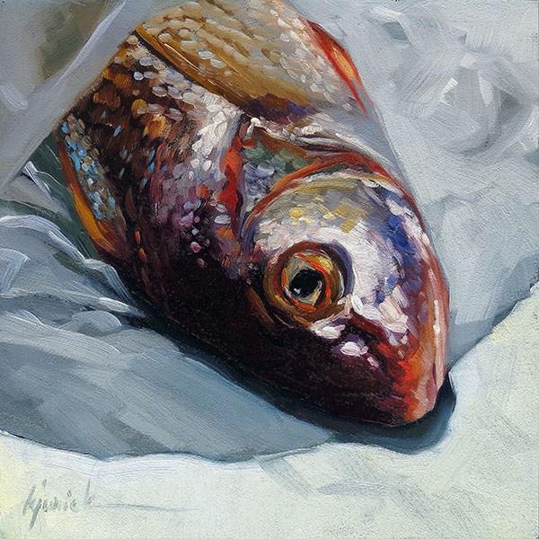 """Unwrapped"" original fine art by Karin Jurick"