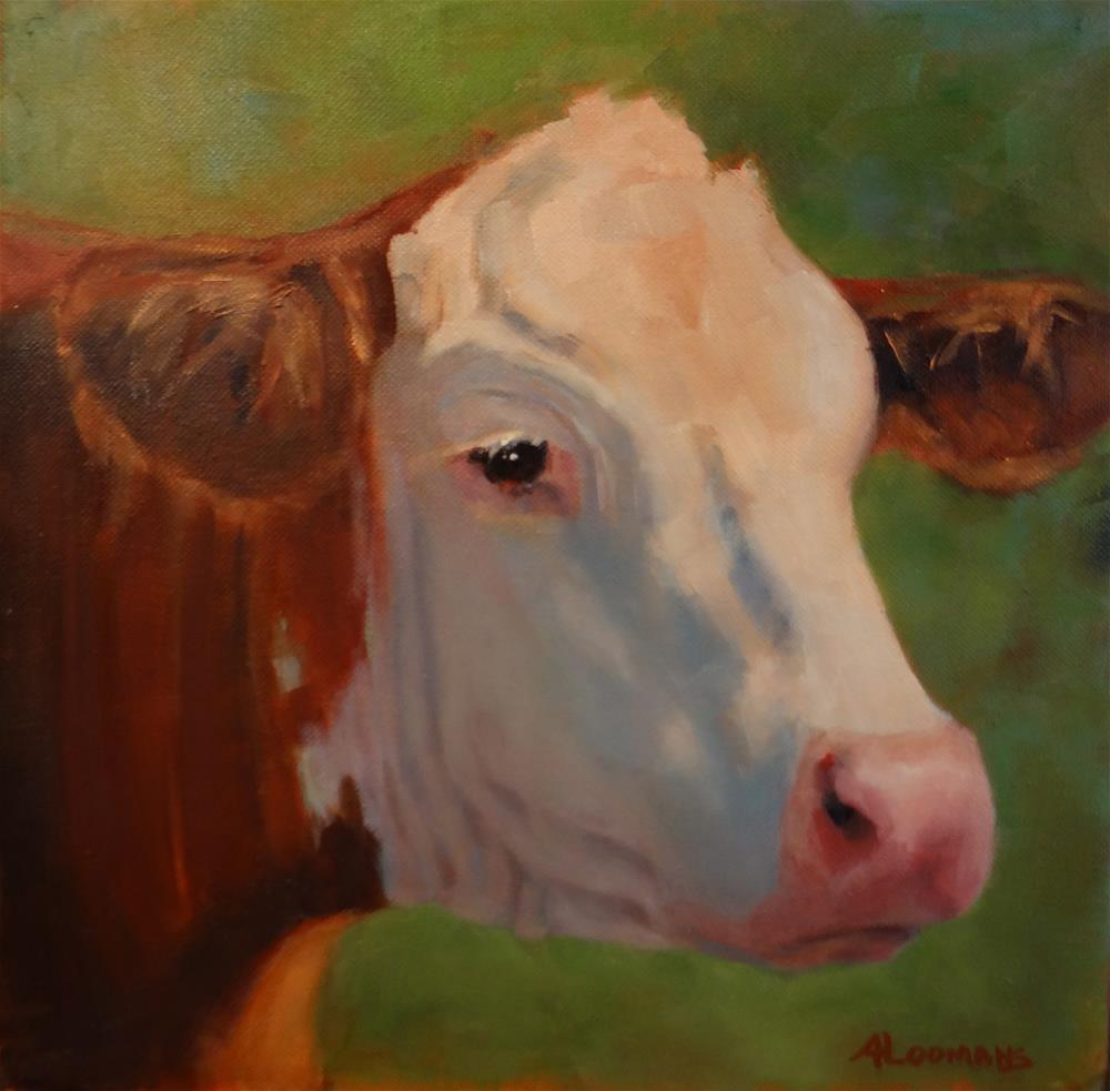 """""""Mable"""" original fine art by Adele Loomans"""