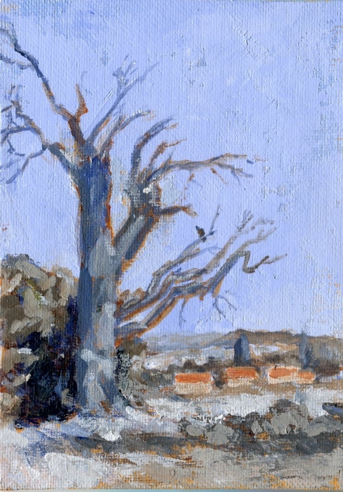 """""""Still Standing"""" original fine art by Stanley Epperson"""