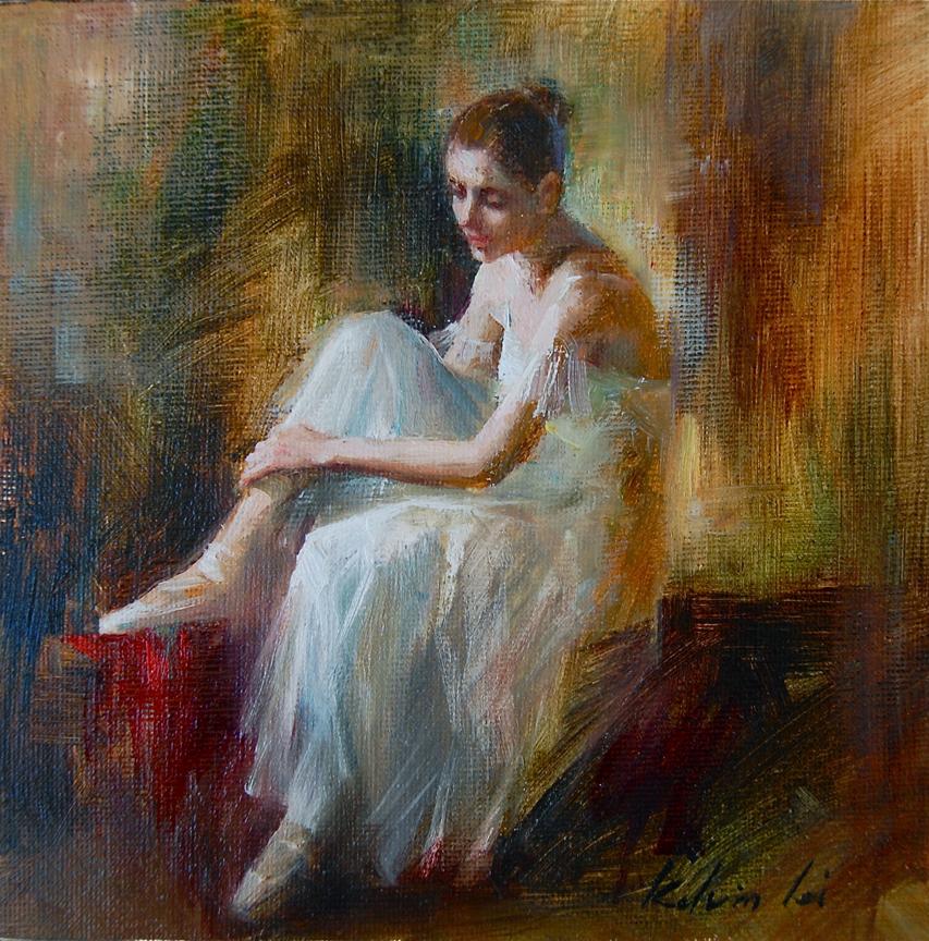 """Ballerina  (10)"" original fine art by Kelvin Lei"