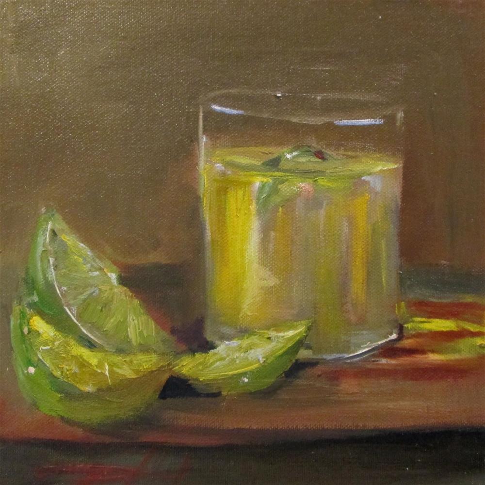 """Gimlet"" original fine art by Delilah Smith"