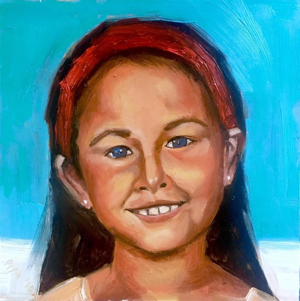 """Kids' Portraits 1/4"" original fine art by Piya Samant"