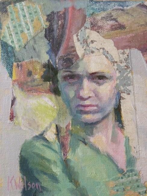 """Pieces of the Past"" original fine art by Katie Wilson"