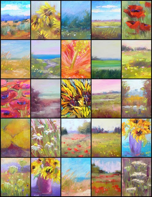 """""""A Simple Way to Make a Photo Collage...aceo sale"""" original fine art by Karen Margulis"""
