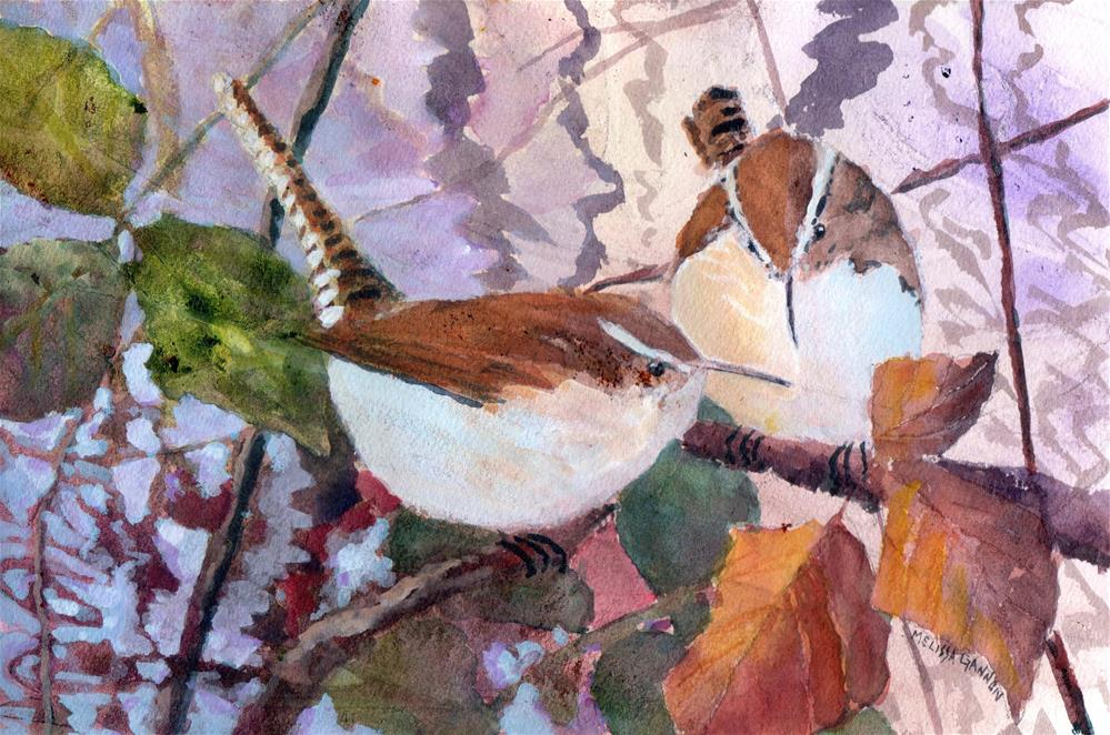 """Beginning a New Year"" original fine art by Melissa Gannon"