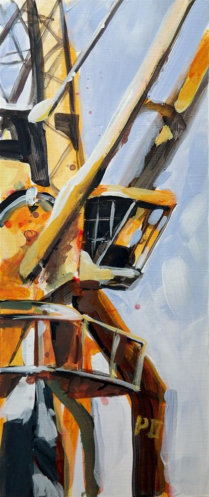 """2514 Crane 03"" original fine art by Dietmar Stiller"