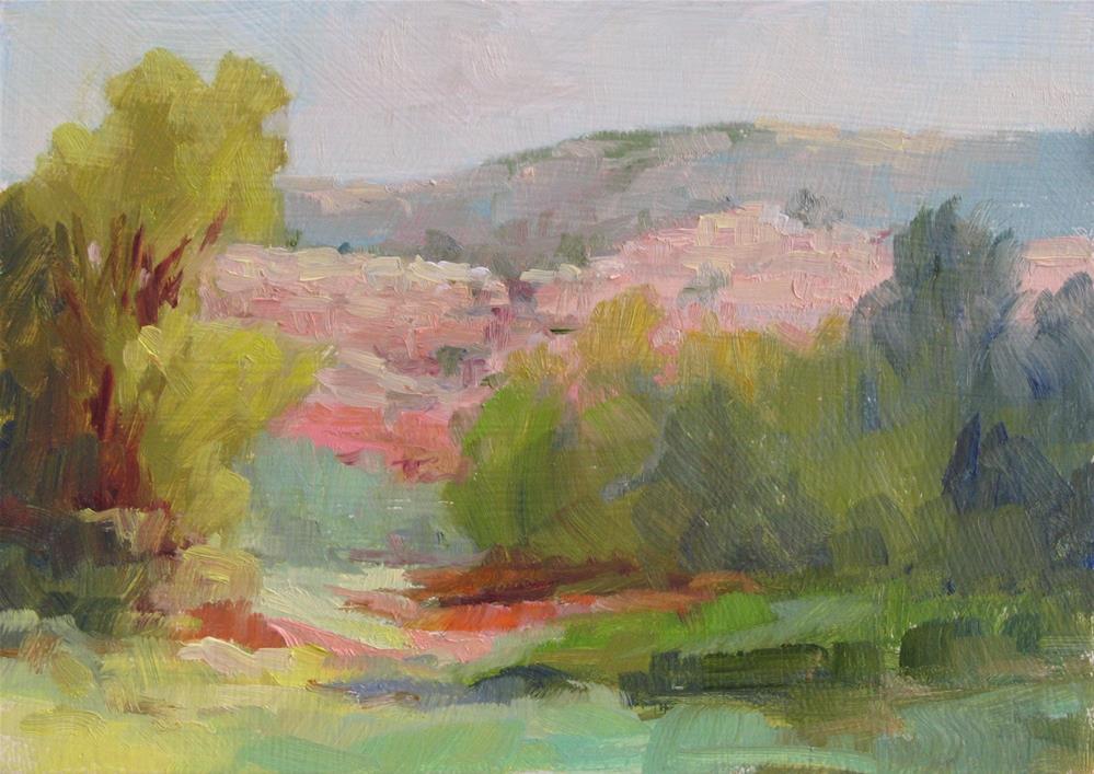 """Chavez Ranch View"" original fine art by Marsha Savage"