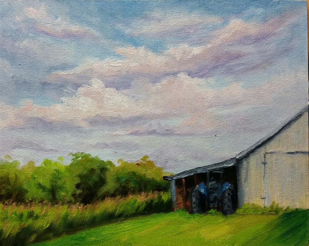 """""""The Long 2-en plein air"""" original fine art by Veronica Brown"""