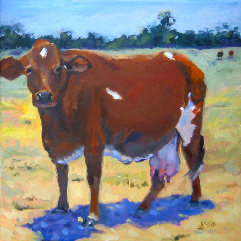 """Elsie Bliss"" original fine art by Nancy Parsons"