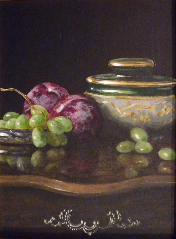 """The Humidor"" original fine art by Helene Adamson"