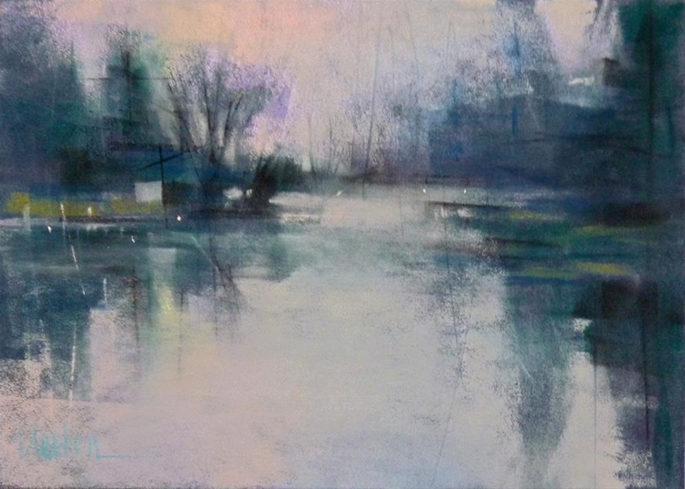 """Morning Fog"" original fine art by Barbara Benedetti Newton"