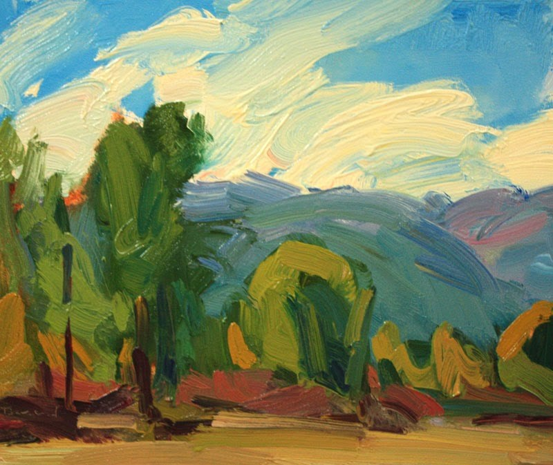 """""""Teanaway Meadow"""" original fine art by Kathryn Townsend"""