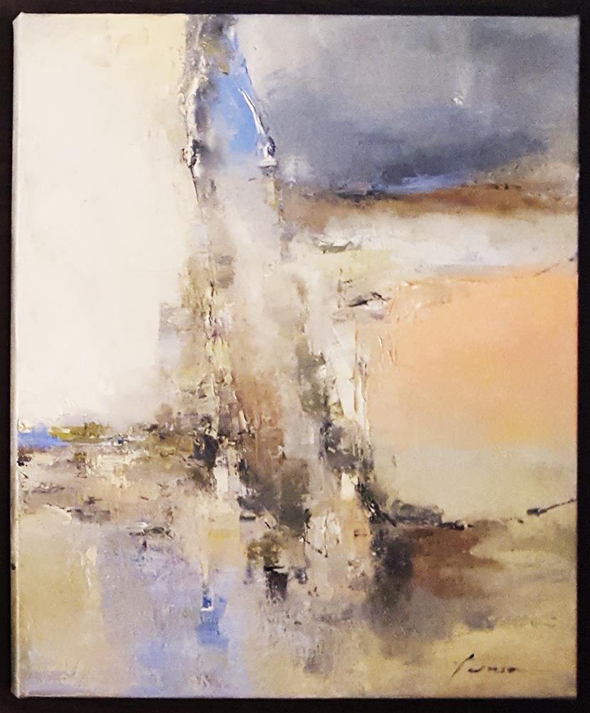 """Toronto,flying water bird"" original fine art by Teresa Yoo"