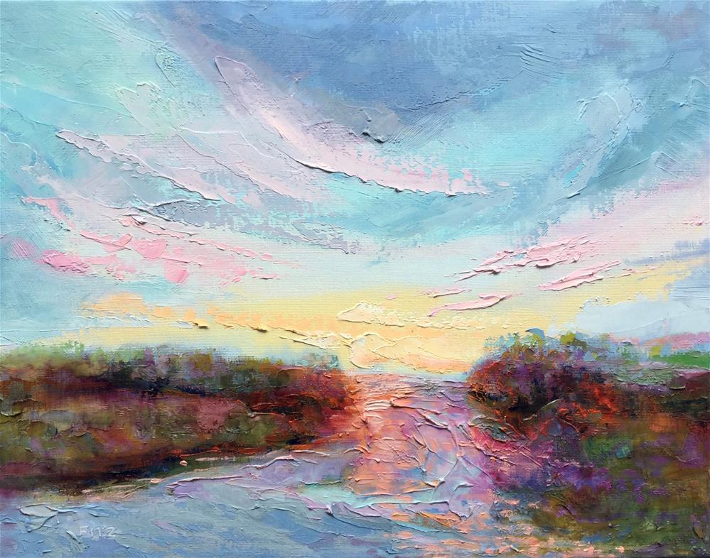 """Interpretations 6"" original fine art by Charlotte Fitzgerald"