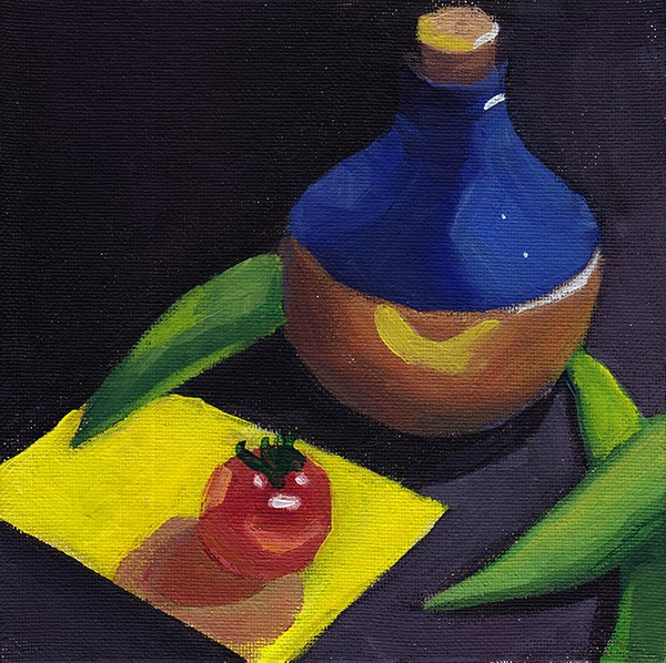 """The Yellow Card Scenario"" original fine art by J M Needham"