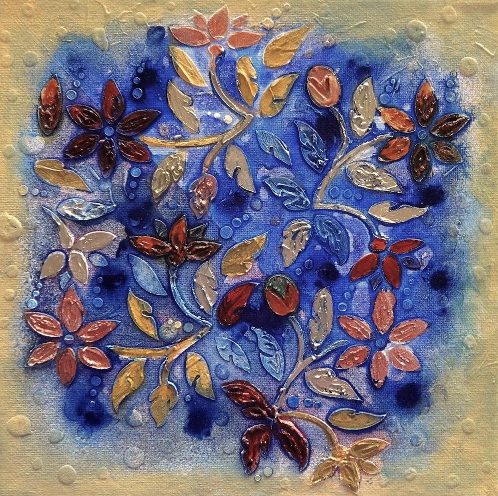 """5023 - Tapestry I"" original fine art by Sea Dean"