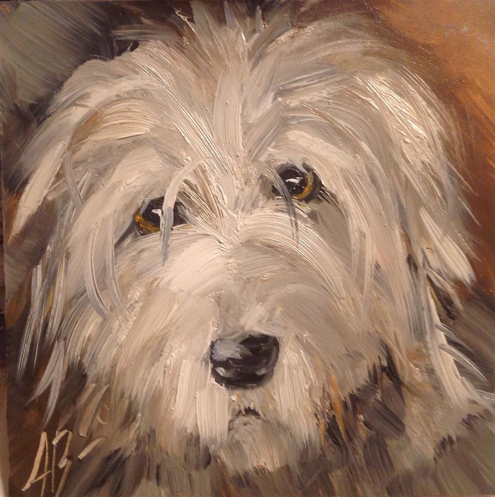 """""""Hound Dog"""" original fine art by Annette Balesteri"""