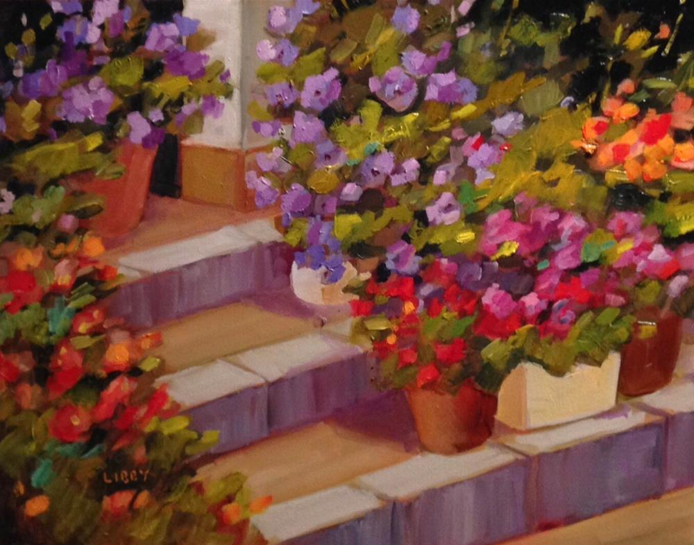 """""""Endless Summer"""" original fine art by Libby Anderson"""