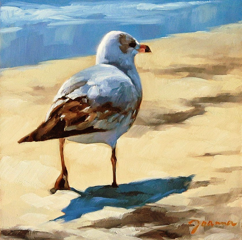 """""""Search Around"""" original fine art by Joanna Bingham"""
