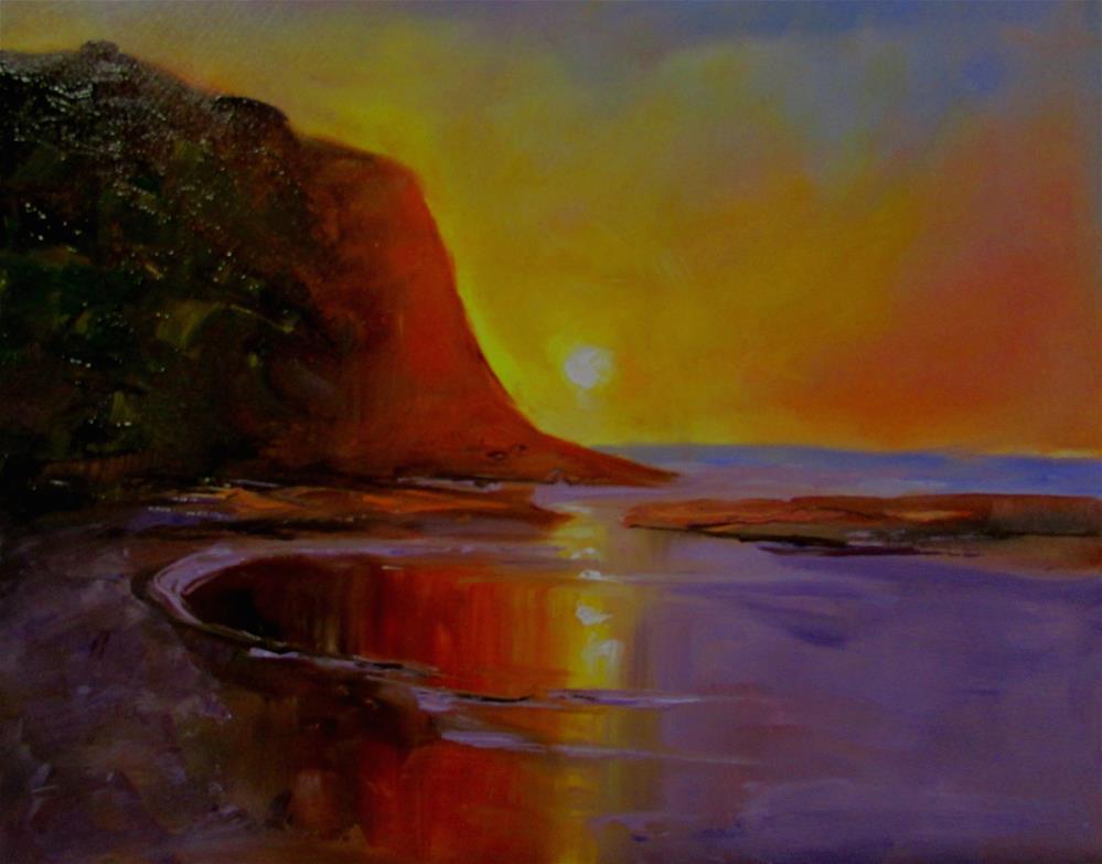 """8 x 10 inch oil"" original fine art by Linda Yurgensen"