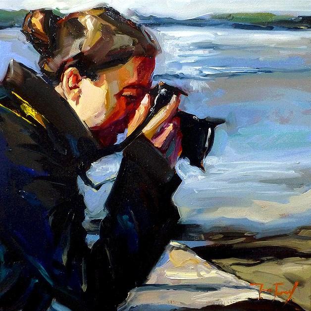 """photographer"" original fine art by Jurij Frey"