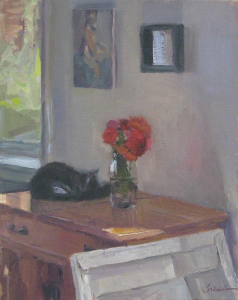 """Wedding Flowers"" original fine art by Sarah Sedwick"