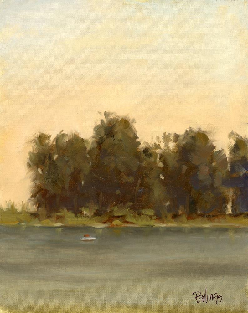 """Rio Vista Morning II"" original fine art by Susanne Billings"