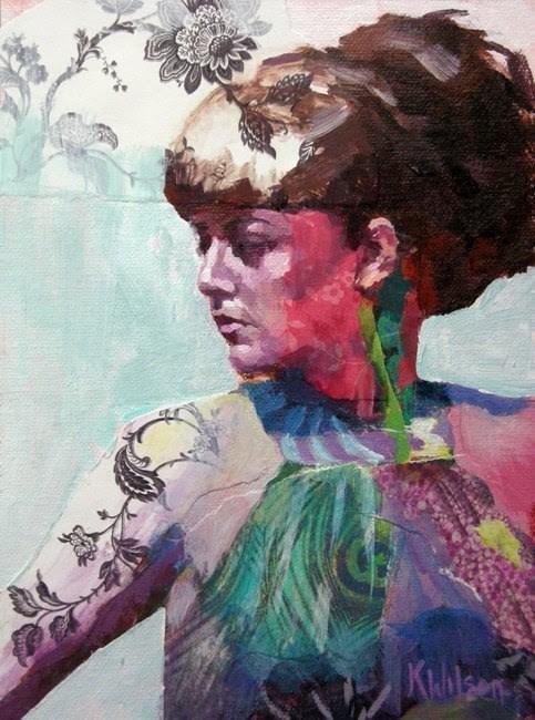 """""""Mrs. L"""" original fine art by Katie Wilson"""