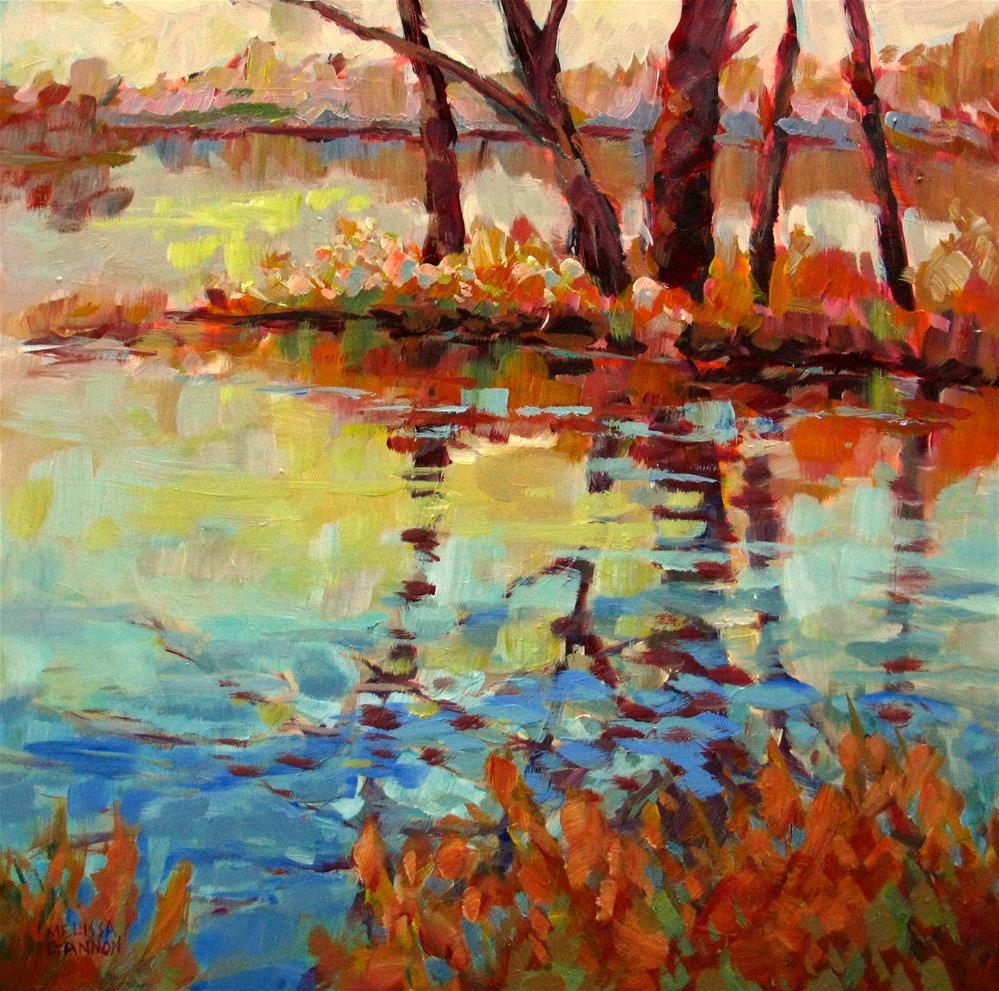"""Dancing Reflections"" original fine art by Melissa Gannon"