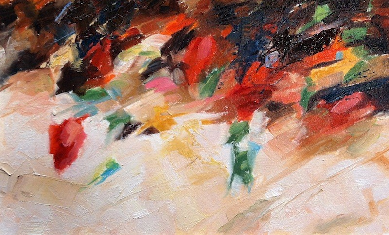 """Color Study, after Richard Schmid"" original fine art by Lynne Schulte"