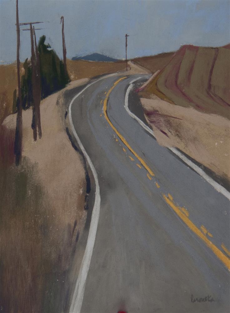 """Centerline"" original fine art by Sarah Peroutka"
