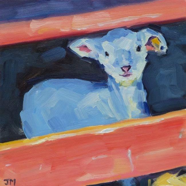 """Spring Baby"" original fine art by Jessica Miller"