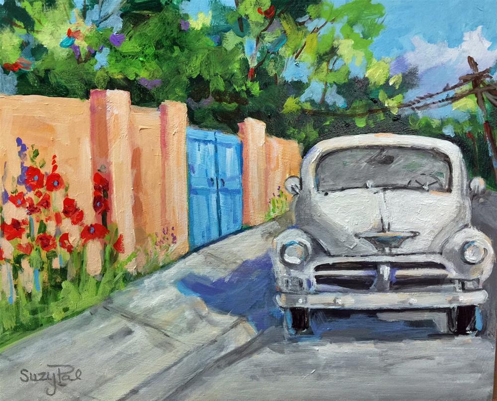 """Santa Fe #25"" original fine art by Suzy 'Pal' Powell"