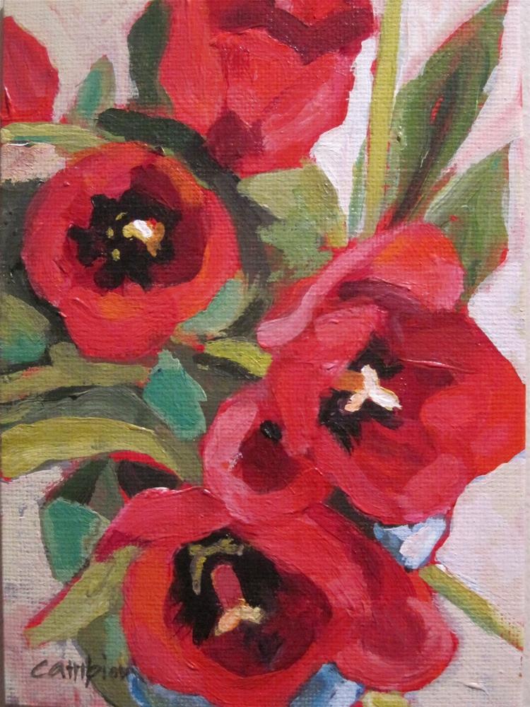 """""""Come Closer"""" original fine art by Diane Campion"""