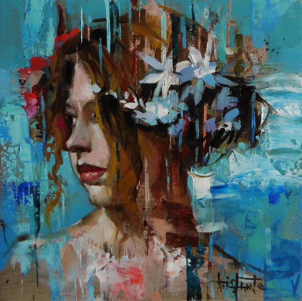 """Remembrance"" original fine art by Víctor Tristante"