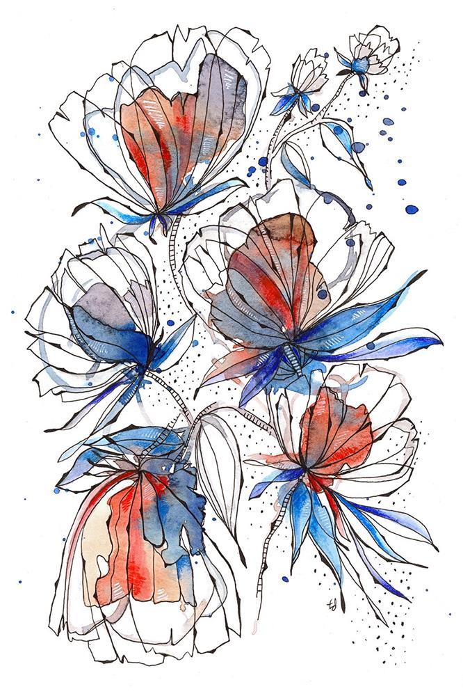 """The Dance"" original fine art by Tonya Doughty"