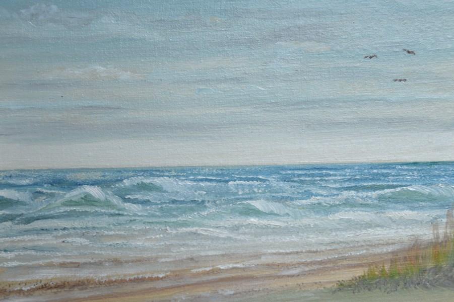 """Galveston Island"" original fine art by Janice Bartke Thompson"