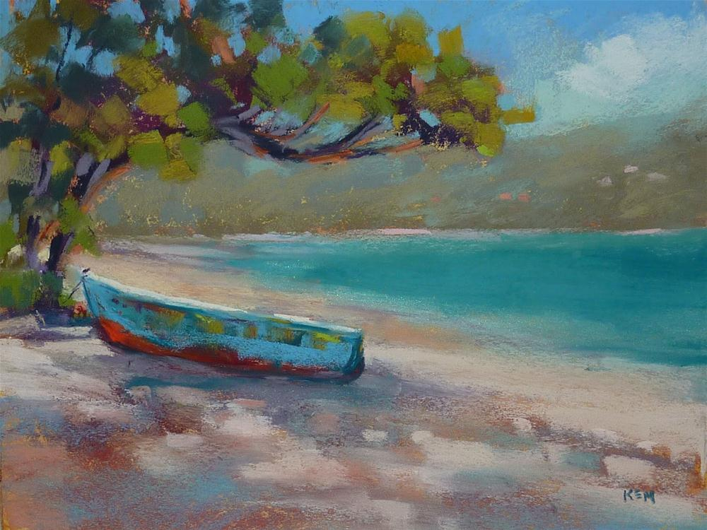"""Magen's Bay Caribbean Beach"" original fine art by Karen Margulis"