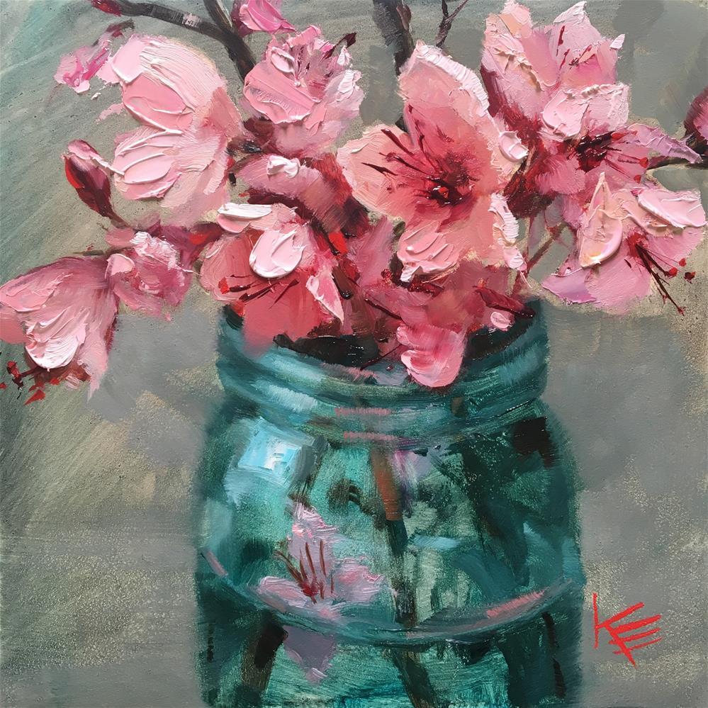 """""""Blossom Branches"""" original fine art by Krista Eaton"""