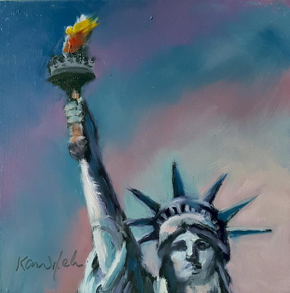 """""""Still Standing Strong"""" original fine art by Karen Weber"""