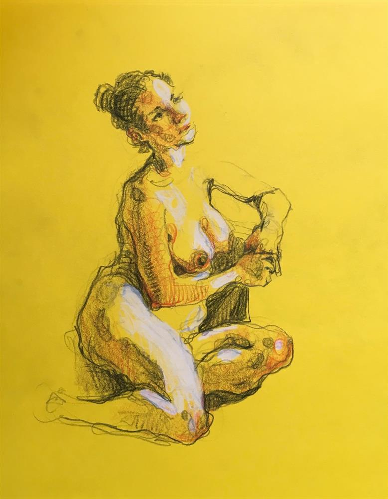 """Figure88"" original fine art by Katya Minkina"