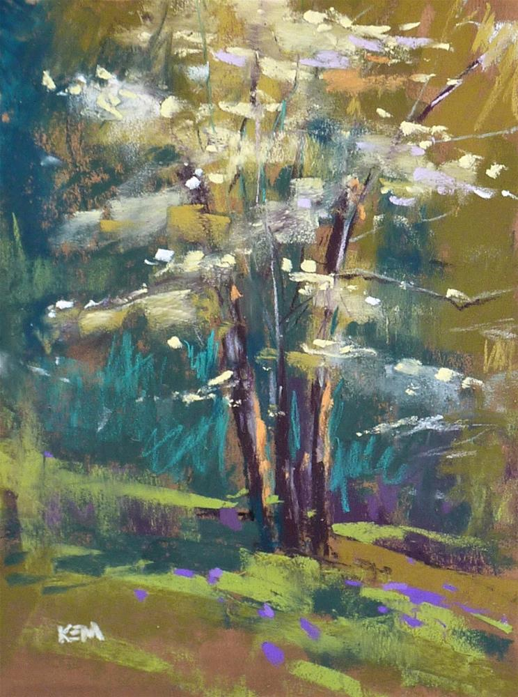 """""""Pastel Clean-up Made Easy...a Tip for Plein air and More!"""" original fine art by Karen Margulis"""