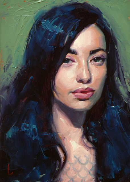 """Dark Sea"" original fine art by John Larriva"