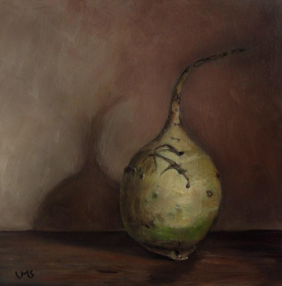 """""""Radish Mantanghong"""" original fine art by Ulrike Miesen-Schuermann"""