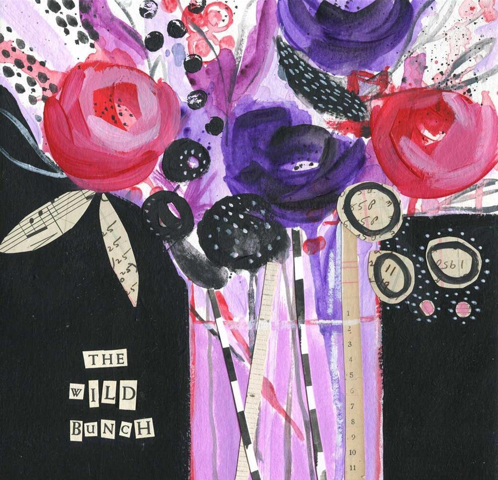 """""""The Wild Bunch"""" original fine art by Heather Bennett"""