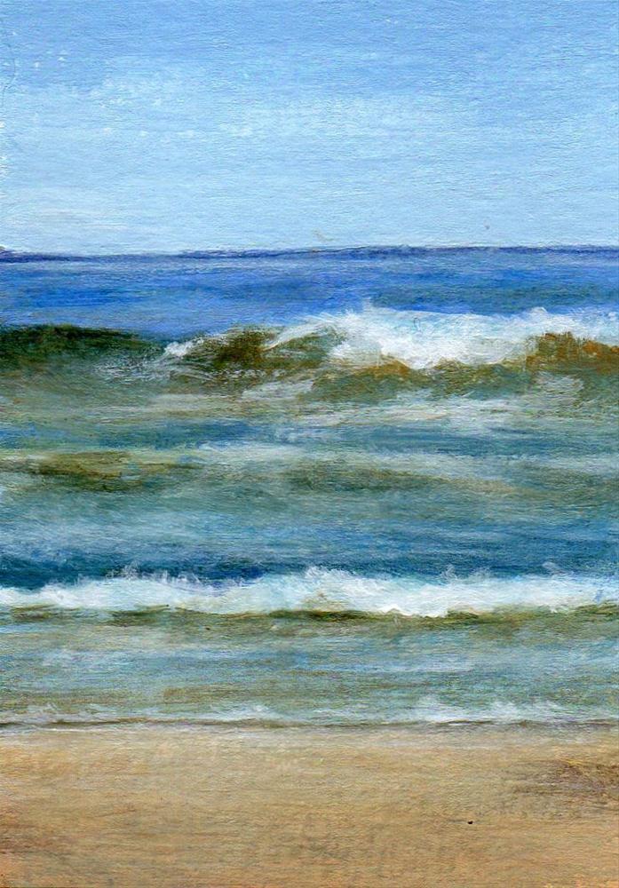 """Ocean Breeze"" original fine art by Debbie Shirley"