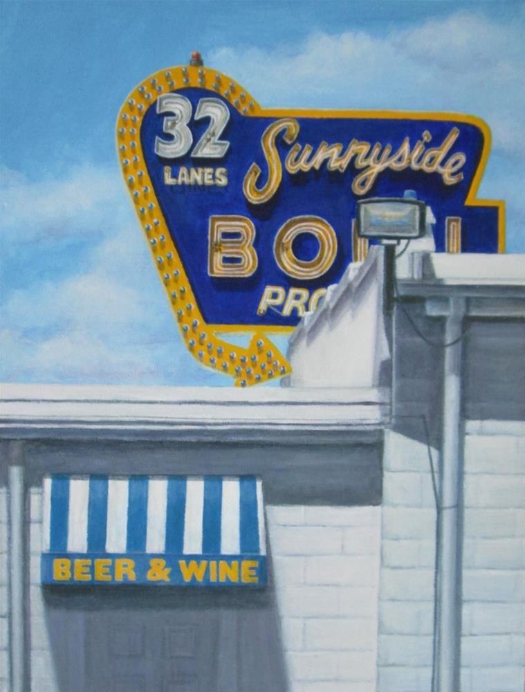 """Beer & Wine"" original fine art by Debbie Shirley"