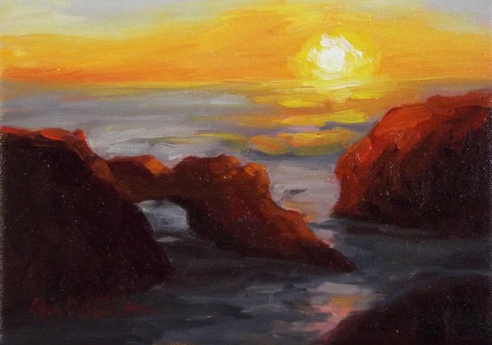 """Mendocino Splendor"" original fine art by Erin Dertner"