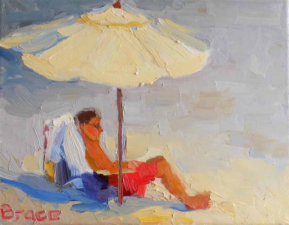 """Shade In The Sun"" original fine art by Rita Brace"
