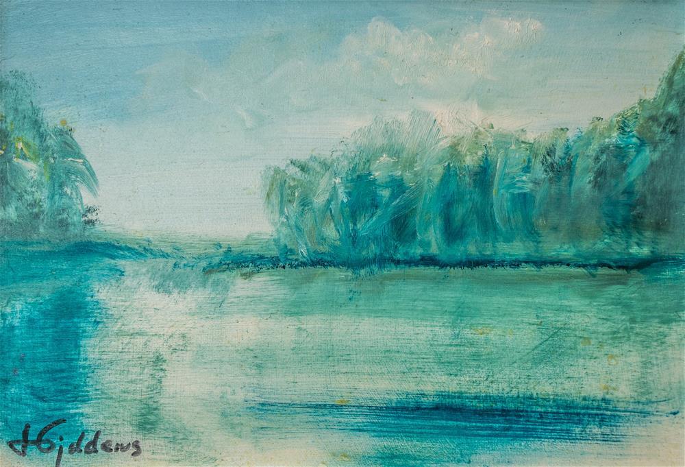 """Summers's Swell II"" original fine art by Jeri Giddens"